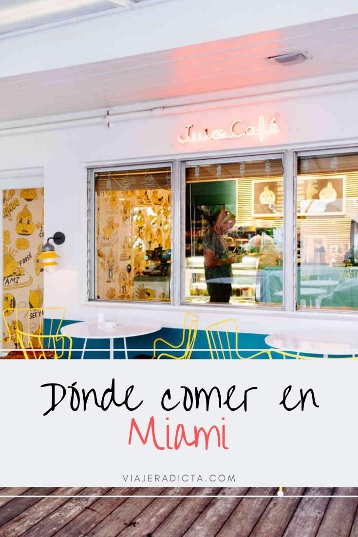 Los mejores restaurantes para comer en Miami. #restaurantes #comida #miami