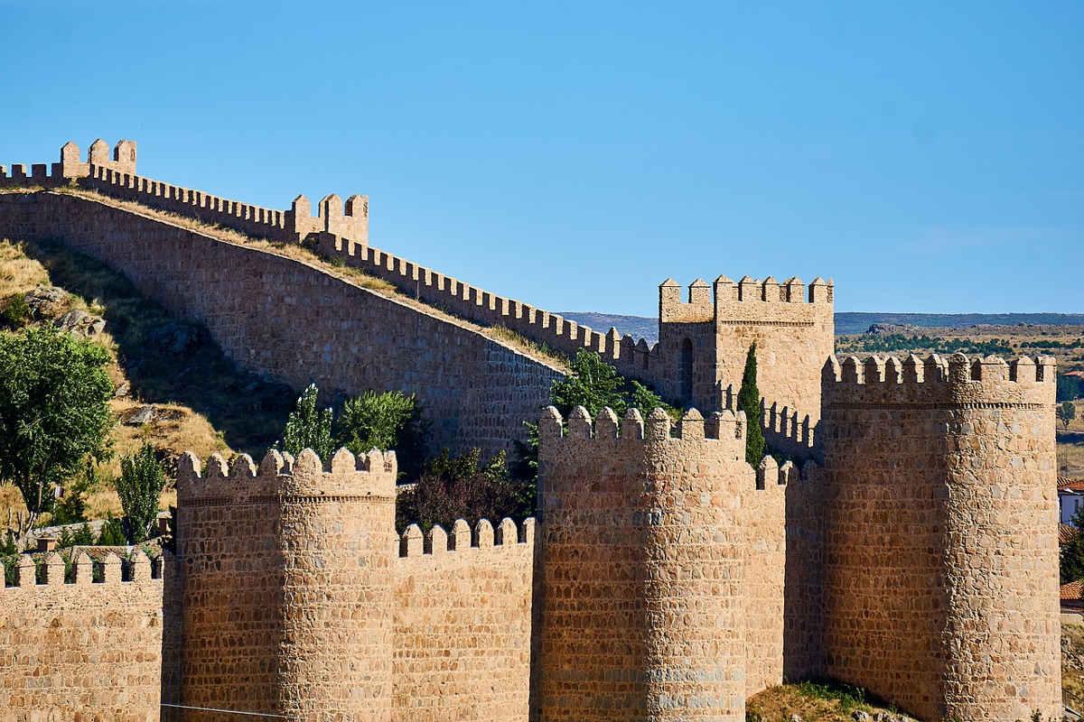 avila murallas españa