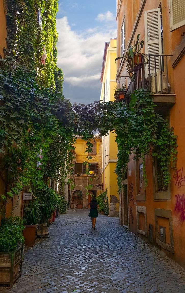 barrio trastevere roma