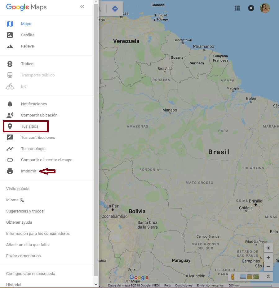 Cómo usar Google My Maps en Google Maps • viajerAdicta on android maps, road map usa states maps, aerial maps, waze maps, ipad maps, iphone maps, gppgle maps, online maps, microsoft maps, gogole maps, bing maps, topographic maps, aeronautical maps, search maps, goolge maps, stanford university maps, amazon fire phone maps, googlr maps, msn maps, googie maps,