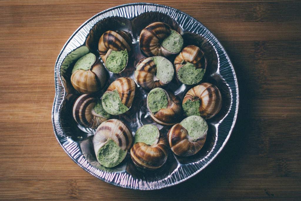 escargots comida tipica paris