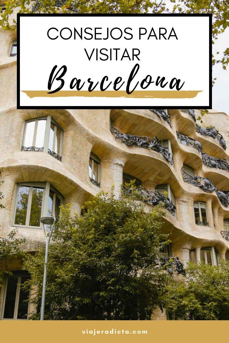 Te vas de viaje a Barcelona? Revisa esta con guia con todos los datos que necesitas saber para planificar tu viaje. #planificacion #viaje #barcelona