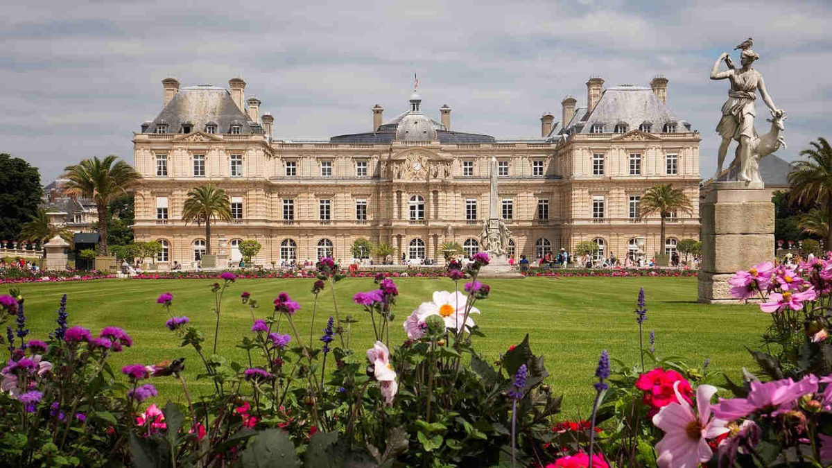 palacio jardin de luxemburgo montparnasse paris
