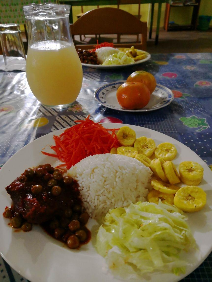 libertad jungle lodge selva peru comida