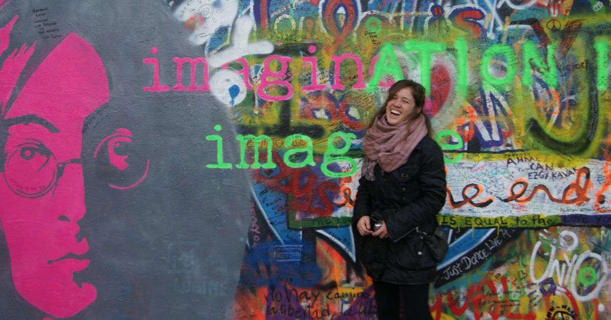 muro de john lennon praga viajeradicta