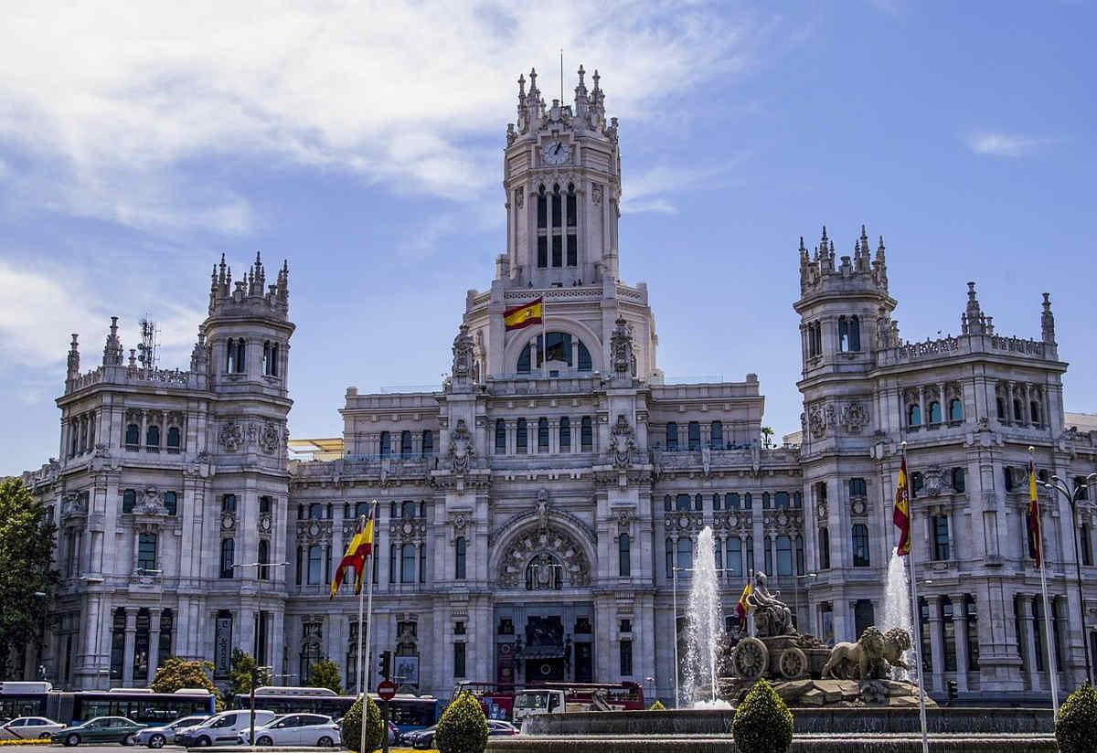 palacio cibeles madrid españa