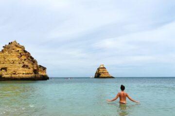 praia dona ana algarve sur de portugal viajeradicta
