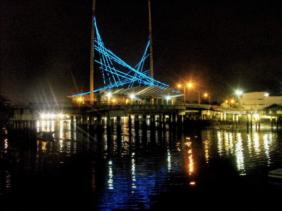Puente Velero Malecon Salado Guayaquil Ecuador