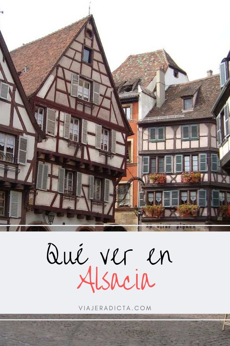 Estos son los lugares que tienes que ver en Alsacia! #viaje #alsacia #francia #turismo #colmar #estrasburgo #pueblos