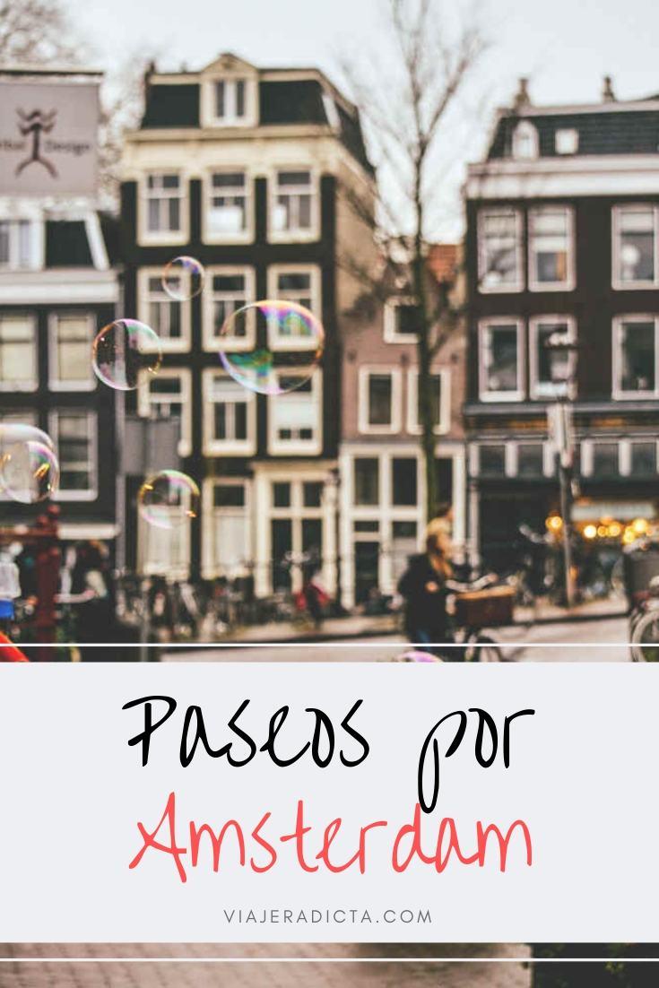 Tienes que hacer al menos una de estas rutas de Amsterdam! #viaje #amsterdam #paseos