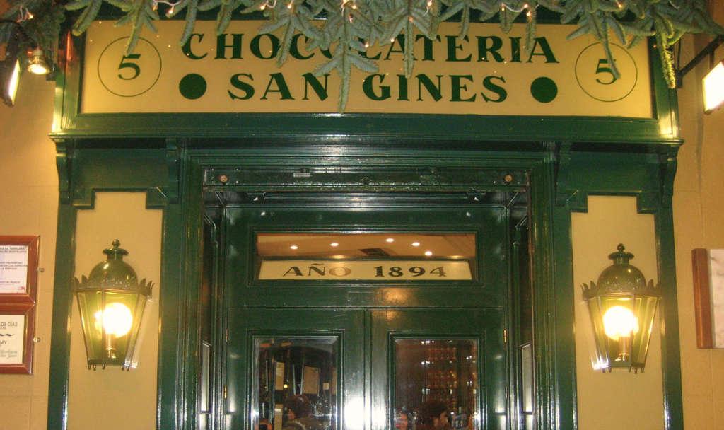 chocolateria san gines churros