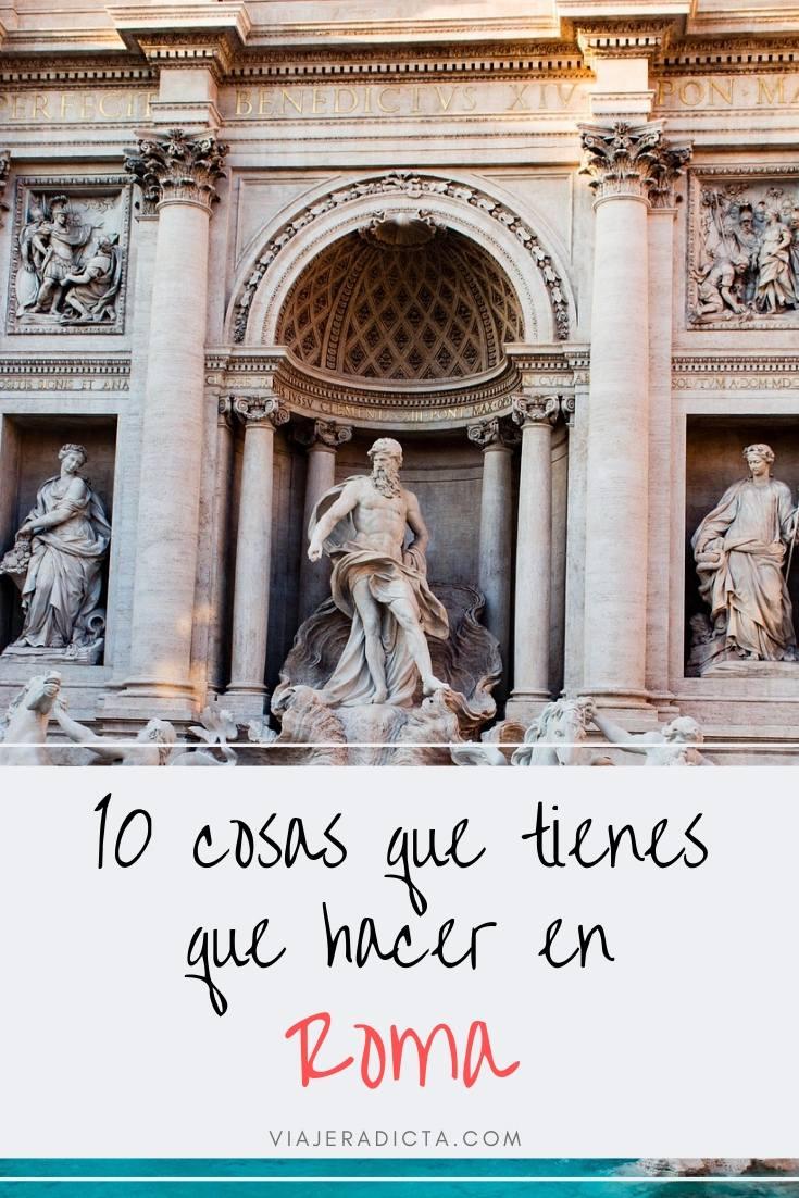 10 cosas que tienes que hacer en Roma! #viaje #roma #turismo