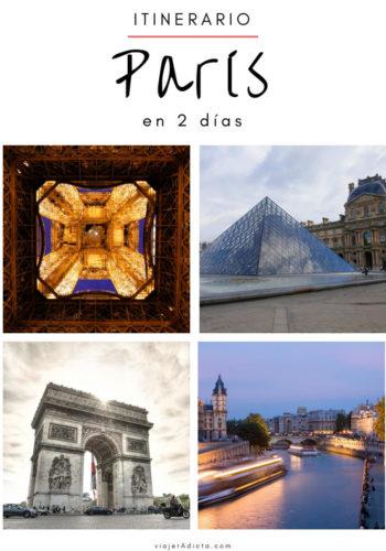 Itinerario paris 2 dias