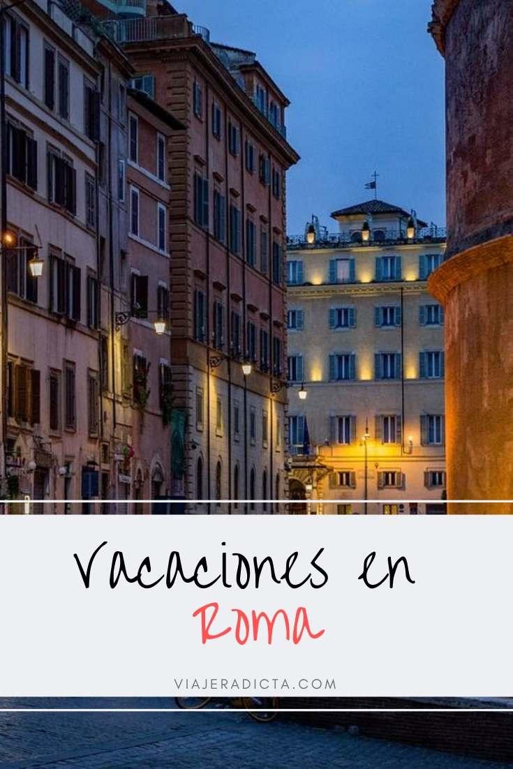 Descubre cómo sentirte en Vacaciones en Roma! #vacacionesneroma #roma