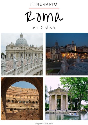 Itinerario Roma 3 dias