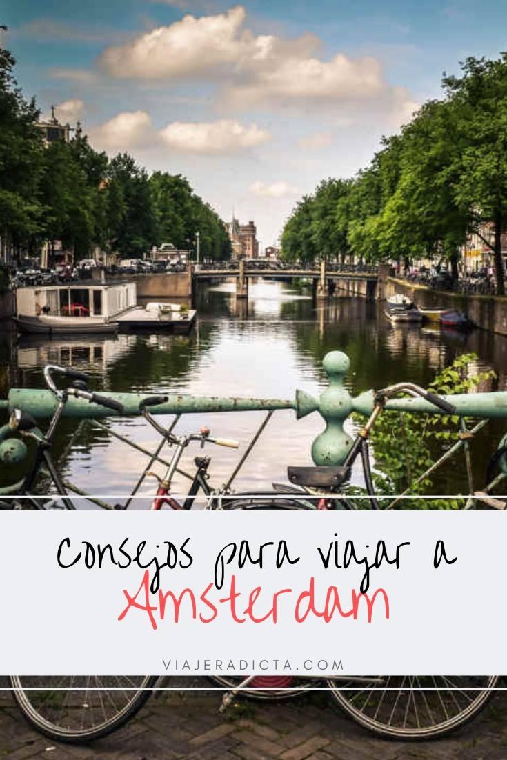 Consejos para viajar a Amsterdam #consejos #planificacion #viaje #amsterdam