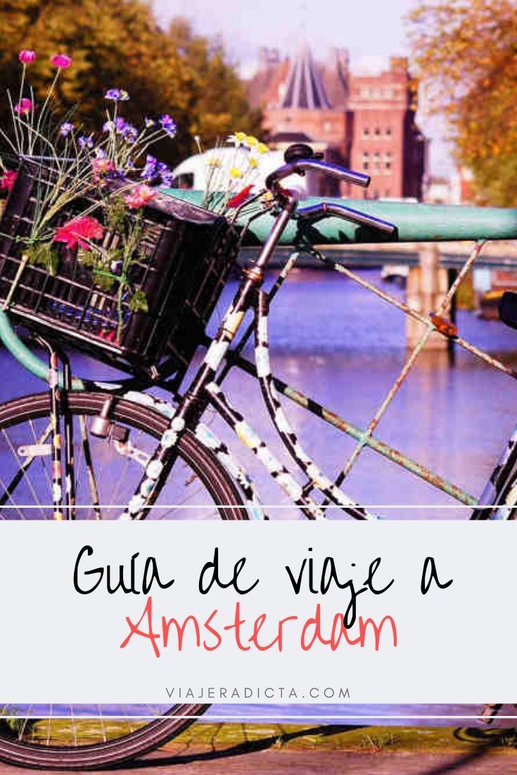 Te vas de viaje a Amsterdam? Revisa esta con guia con todos los datos que necesitas saber antes de comenzar tu viaje. #viaje #amsterdam #holanda