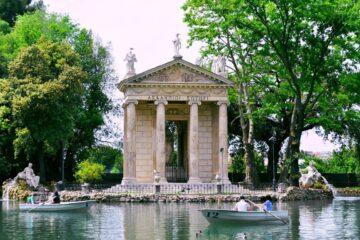 villa borghese roma italia