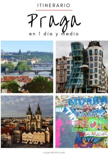 Itinerario Praga 1 dia y medio