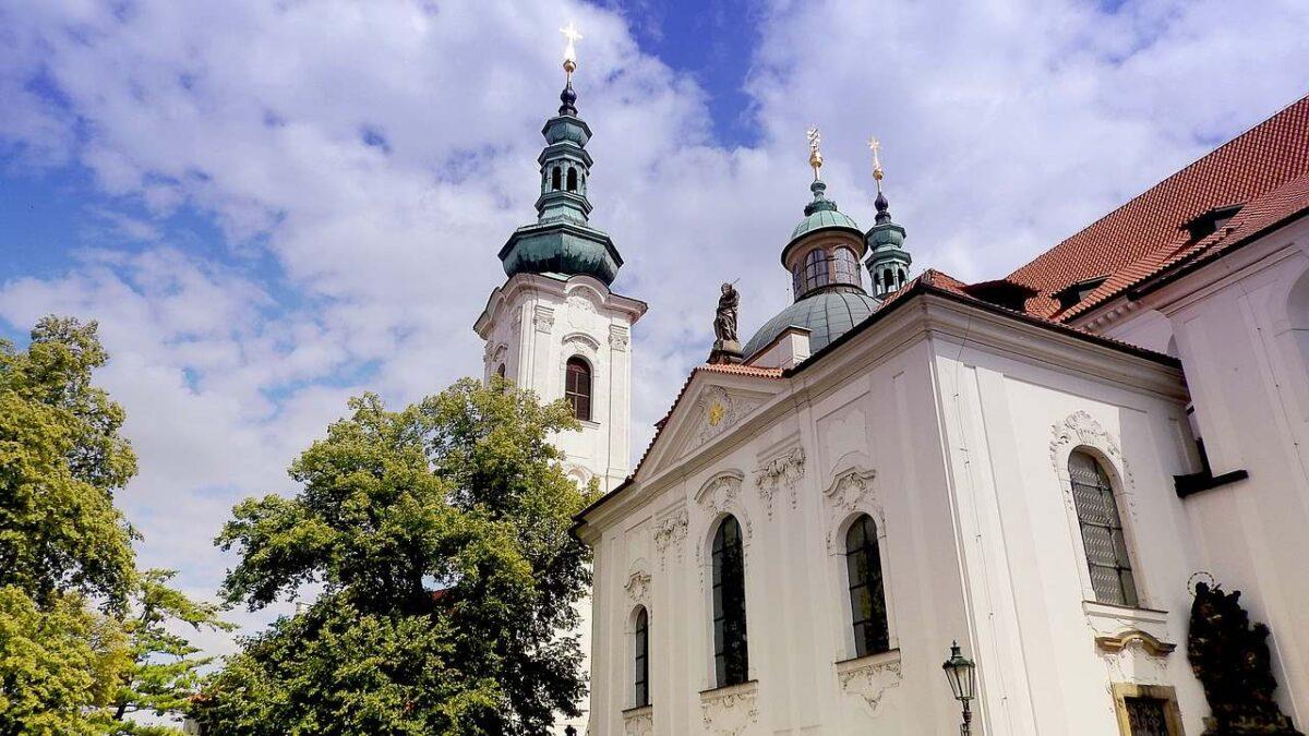 monastrio de strahov zona del castillo praga
