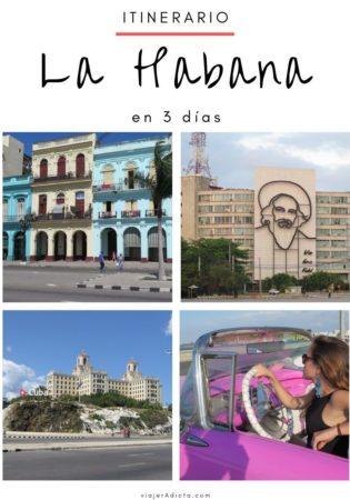 La Habana itinerario 3 dias