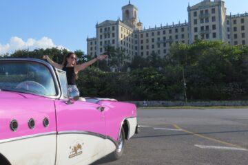 paseo en almendron y el hotel nacional de cuba