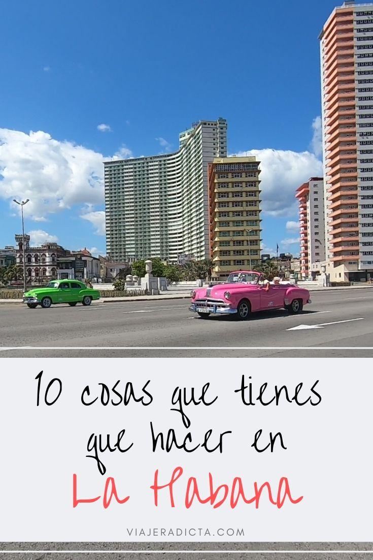 10 cosas que tienes que hacer en La Habana! #viaje #lahabana #cuba #turismo