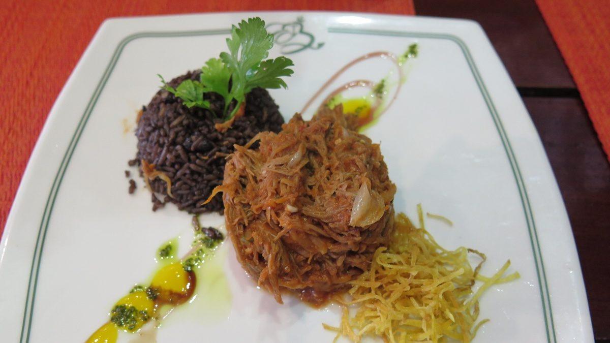Ropa Vieja en Restaurante El Bikiy