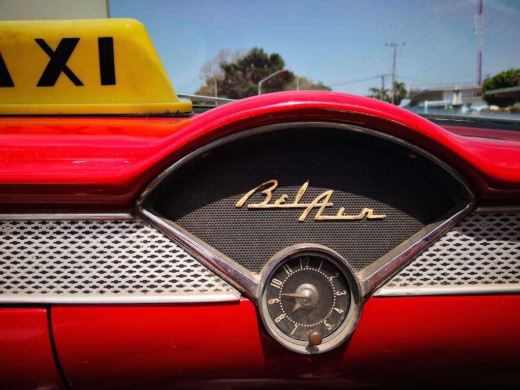 convertible bel air varadero cuba