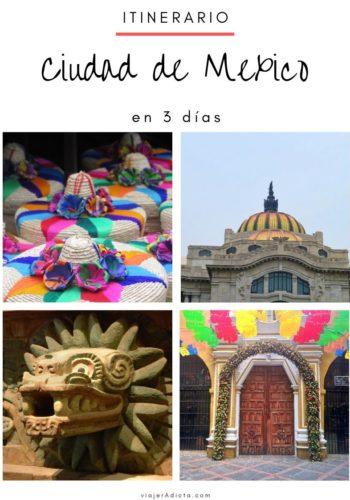 CDMX itinerario 3 dias