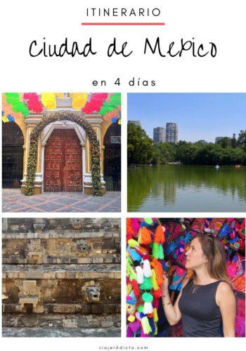 CDMX itinerario 4 dias