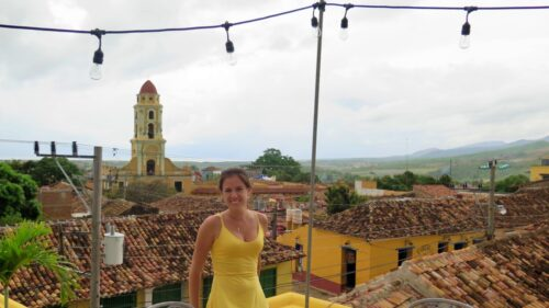 Vista desde la terraza de El Criollo