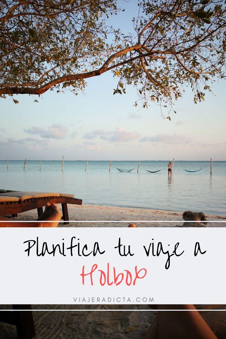 ¿Vas a viajar a la Isla de Holbox? Revisa esta guia con todo lo que necesitas! #planificacion #viaje #mexico #isladeholbox