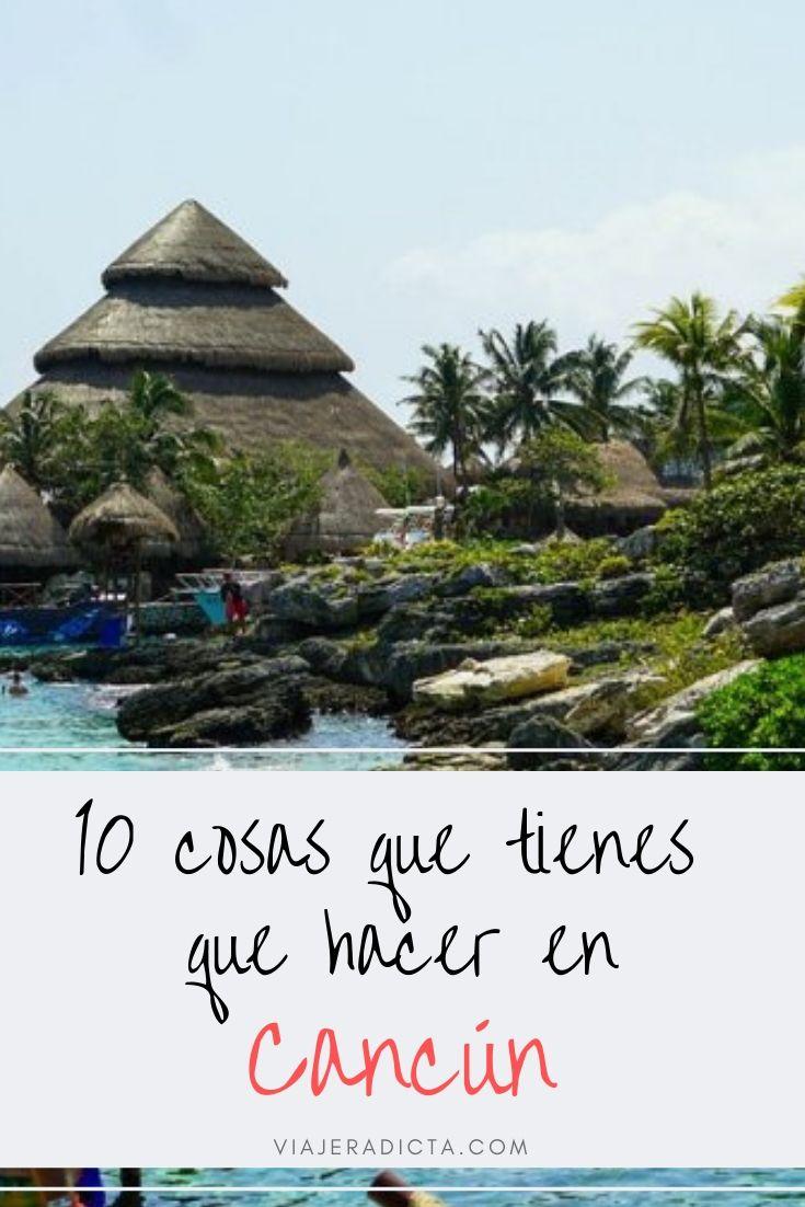 10 cosas que tienes que hacer en Cancún o en la Riviera Maya! #viaje #mexico #cancun ·#rvieramaya #turismo