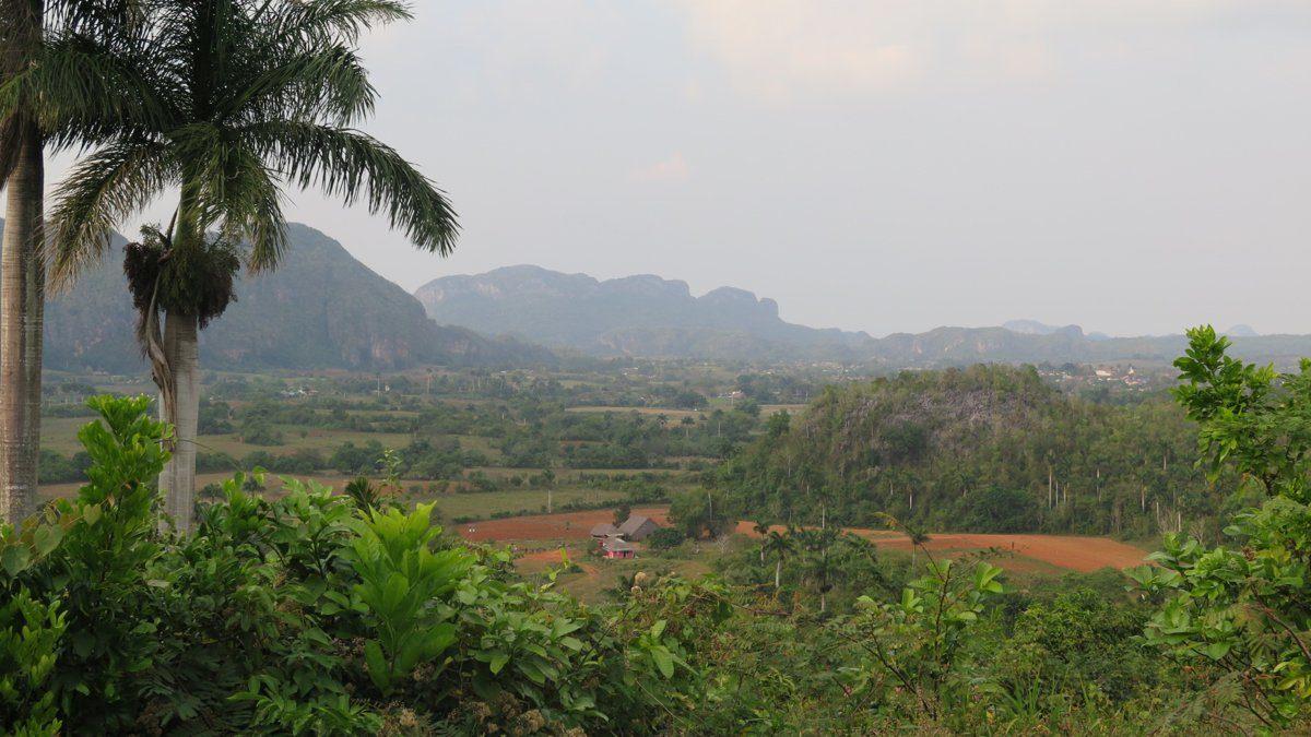 vista desde el hotel horizontes los jazmines en viñales
