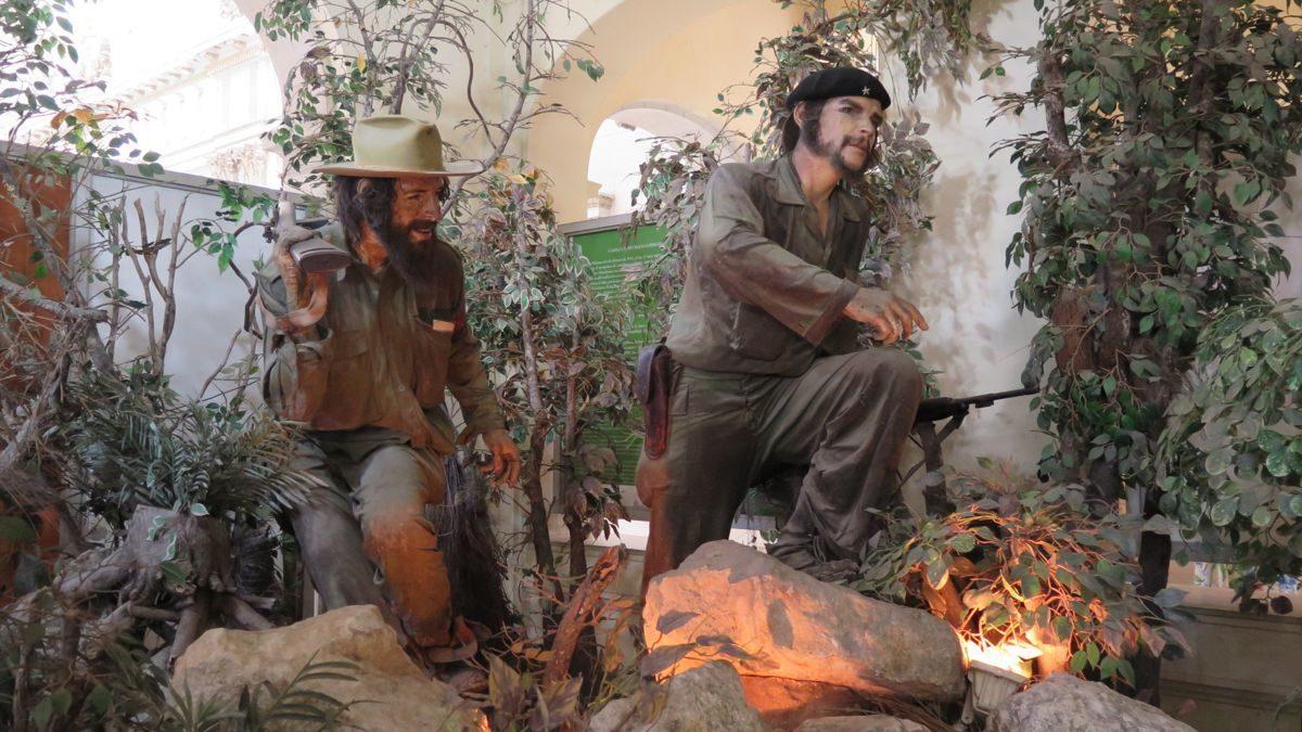 el che y fidel museo de la revolucion la habana cuba