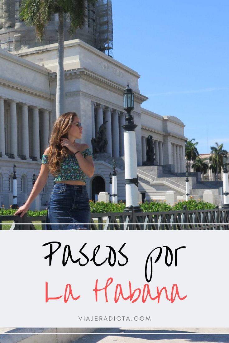 Tienes que hacer al menos uno de estos paseos en La Habana! #viaje #lahabana #cuba #paseos #recorridos