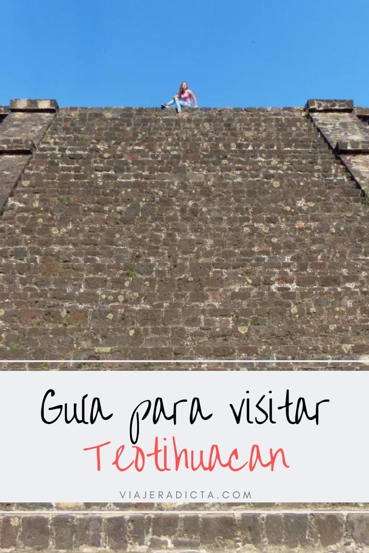 Guia para visitar las pirámides de Teotihuacan #guia #teotihuacan #cdmx #piramides