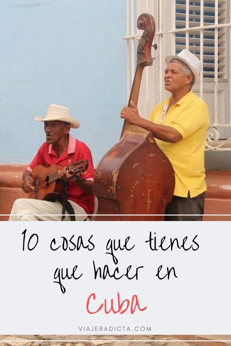 10 cosas que tienes que hacer en Cuba! #viaje #cuba #turismo