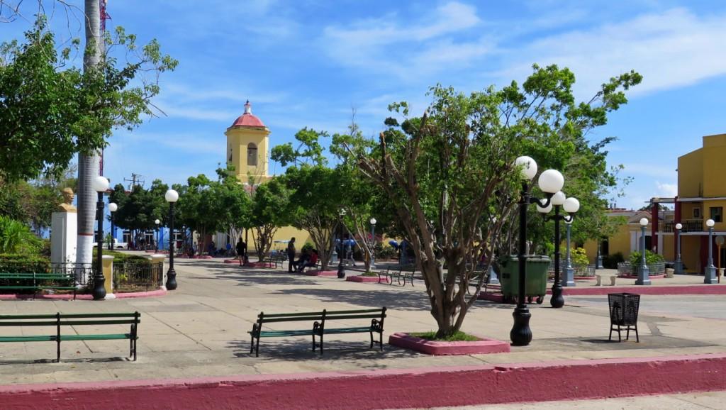 Plaza Carillo en Trinidad