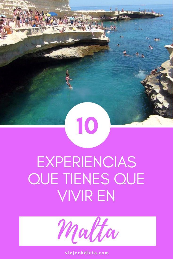 10 cosas que tienes que hacer en Malta! #viaje #malta #turismo