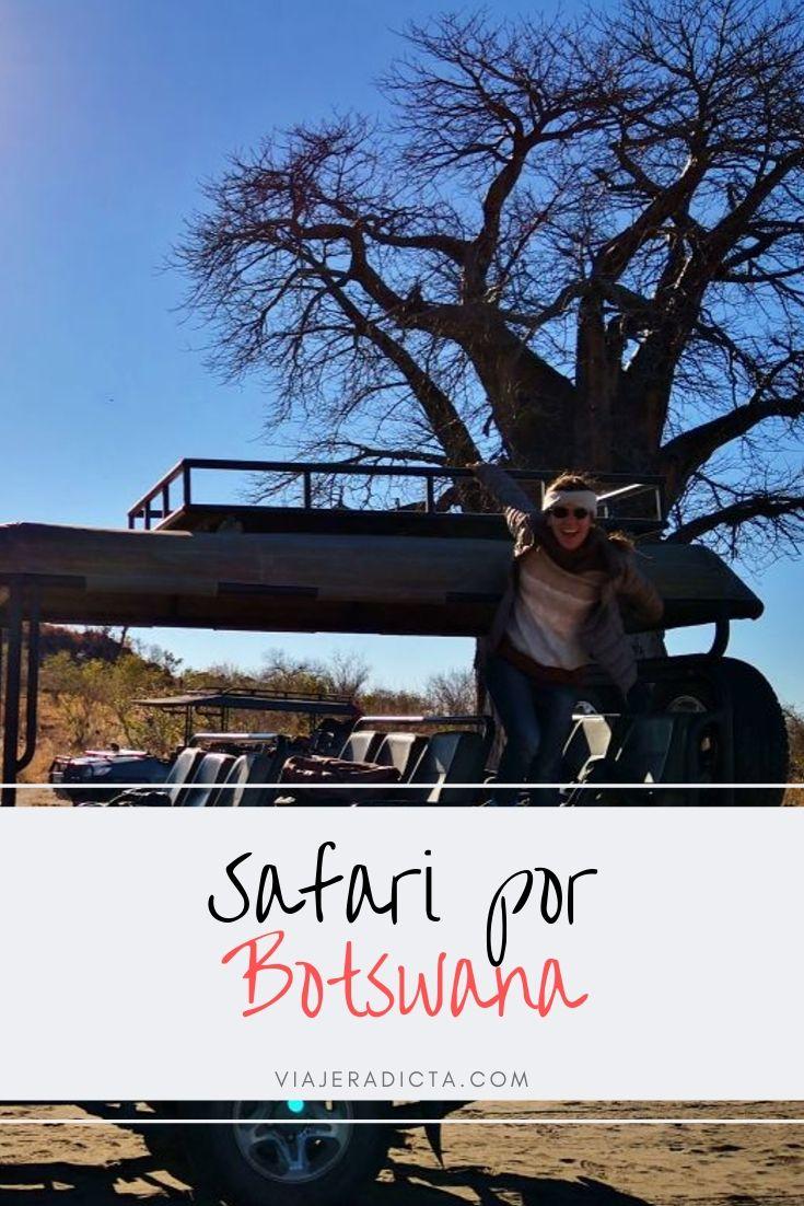 Safari movil en Africa: hacer un safari movil por Botswana ha sido una de las mejores experiencias de mi vida #safari #africa #botswana #viaje #vidasalvaje #animales