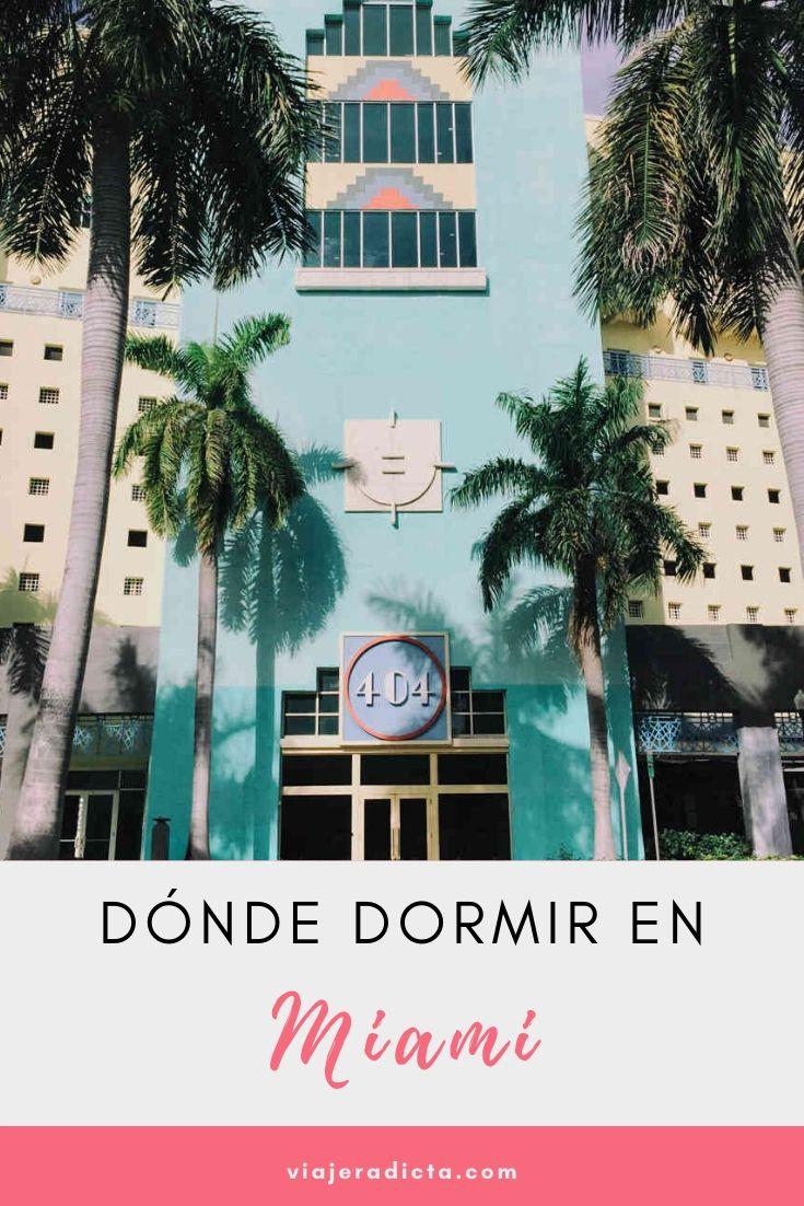 Alojamiento en Miami #viaje #miami #alojamiento #hotel