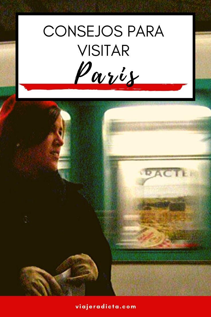 Consejos para viajar a Paris. #consejos #planificacion #viaje #paris #francia