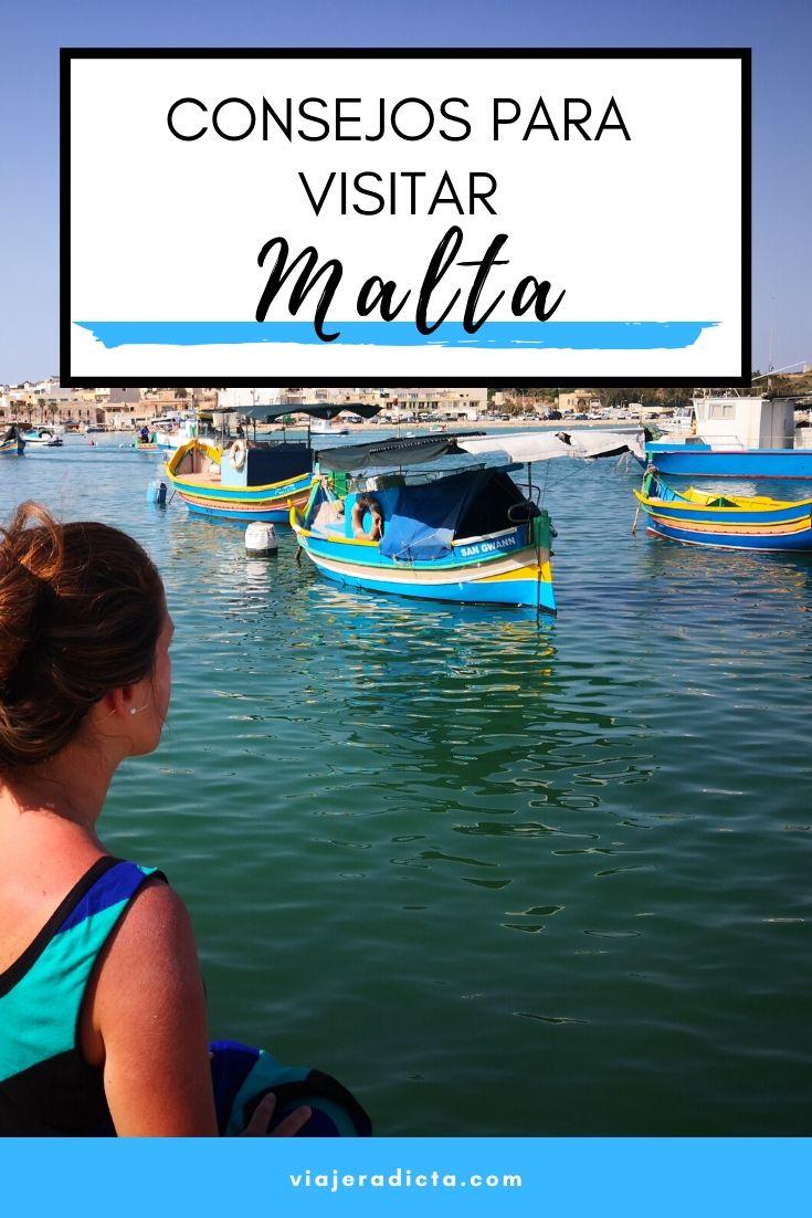 Consejos para viajar a Malta. #consejos #planificacion #viaje #malta