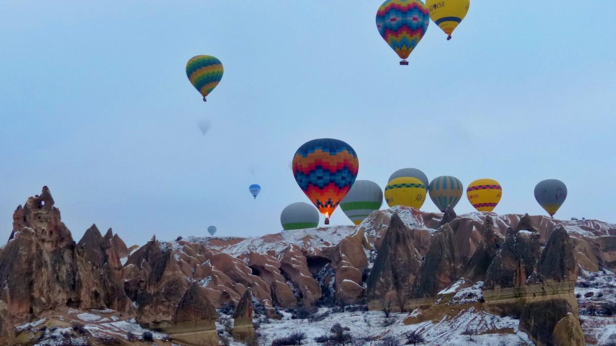 Paseo en globo sobre Capadocia