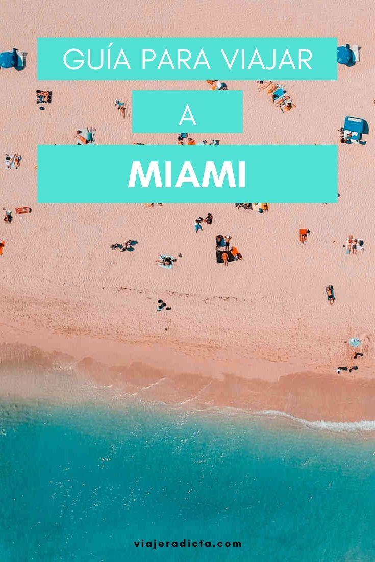 Te vas de viaje a Miami? Revisa esta con guia con todos los datos que necesitas saber antes de comenzar tu viaje. #viaje #miami #florida
