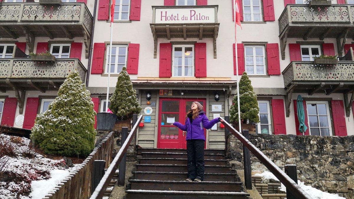 hotel du pillon pueblo alpino suizo