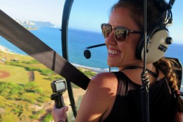 helicoptero en hawai