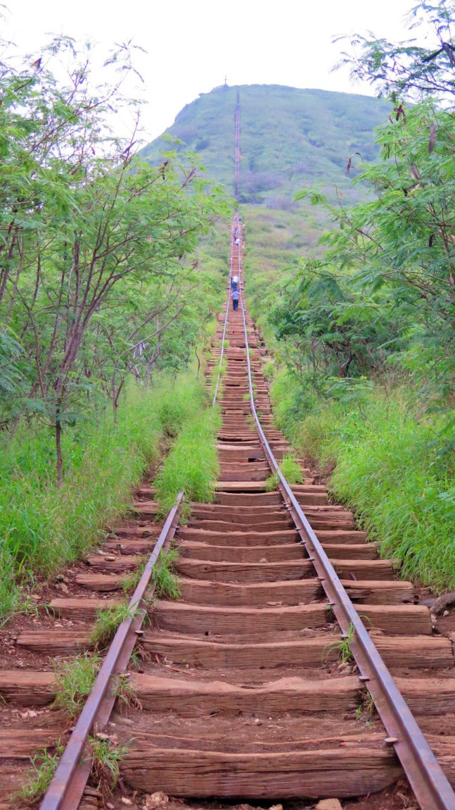 escaleras en el koko head